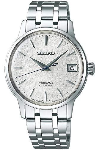 Seiko presage Damen Uhr analog Automatik mit Edelstahl Armband SRP843J1