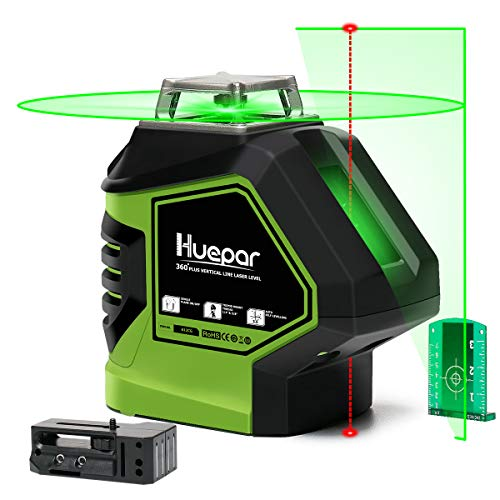 Huepar Self-Leveling Green Laser Level Cross Line...