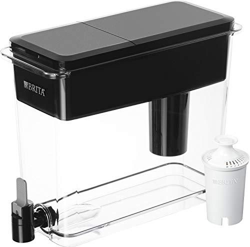 Brita 60258360394 Ultra Max Filtering Dispenser, Black, Black