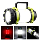 SGODDE Lampe de Camping LED Rechargeable, 1000 Lumens Ultra Puissante Lanterne Camping 6 Modes IPX5...