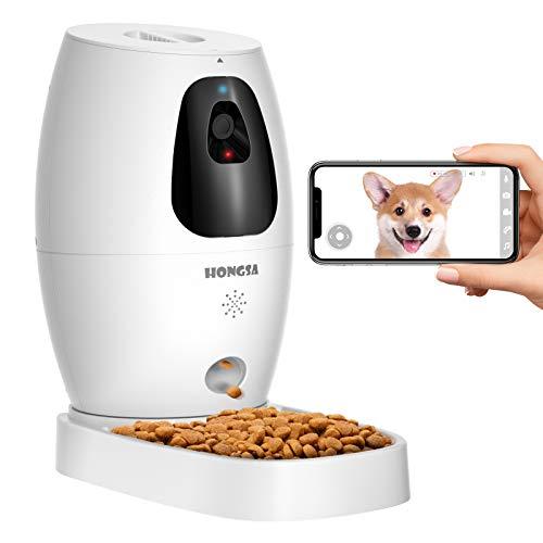 Smart Pet Camera with Treat Dispenser & Tossing, Dog Cat Camera, 2.4G WiFi,...