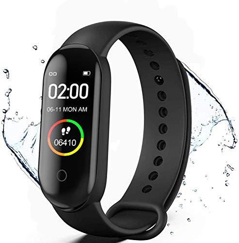 KLiHD Smartwatch,Pulsera de Actividad física M4,Reloj...