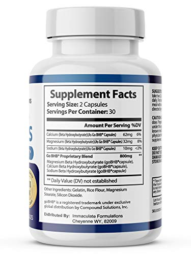Advanced Keto Plus Pills Advanced BHB Ketogenic Supplement Exogenous Ketones Ketosis for Men Women 180 Capsules 3 Bottle 2
