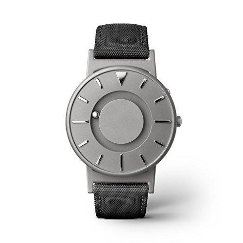 eone BRADLEY CLASSIC Unisex Uhr - Leder/ Stoff Armband noir