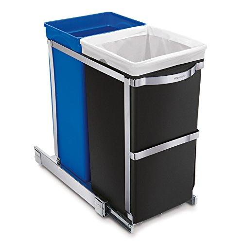 41FND0HakWL - Best 15 Under Sink Trash Cans Reviews 2020