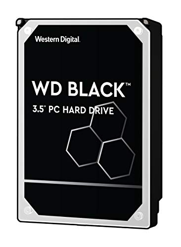 WD Black 6TB Performance Hard Drive - 7200 RPM, SATA 6 Gb/s, 256 MB Cache, 3.5' - WD6003FZBX