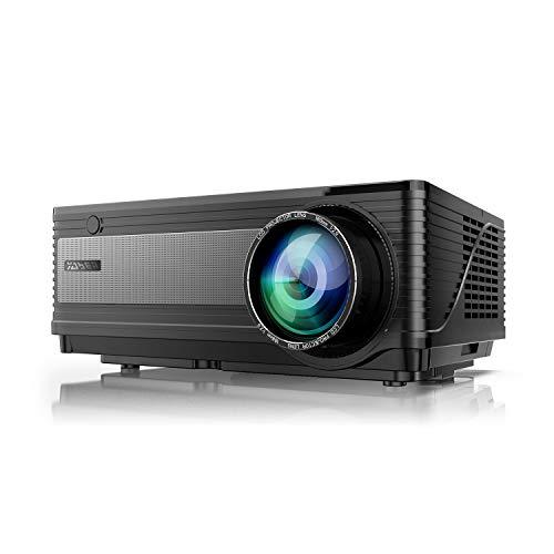 Videoproiettore, YABER 6500 Lumen Proiettore Nativa 1080P Supporto 4K 1920 x 1080 HD 300 'Display...