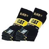 Confezione da 6 paia di calzini da uomo da lavoro in cotone adatti all'utilizzo con le scarpe antinfortunistiche; i calzini sono disponibili in 3 colori (blu, nero e grigio) e in 5 taglie (35-38, 39-42, 41-45, 43-46 e 46-50). SOLUZIONE PER I PROBLEMI...