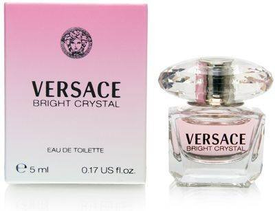 Versace Women's Bright Crystal Mini, 0.17 Fl Oz