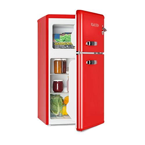 KLARSTEIN Irene - Combinazione Frigo-Congelatore, Frigorifero Retro, Scomparto Freezer 61 L,...