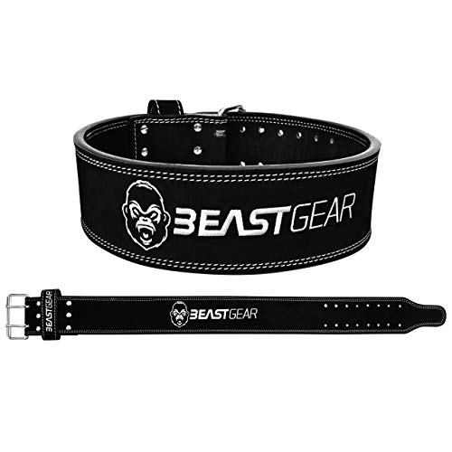 Beast Gear PowerBelt – Premium Powerlifting Gürtel...