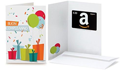 Buono Regalo Amazon.it - €20 (Biglietto d'auguri Coriandoli)