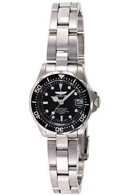 Invicta Women's Pro Diver 24.5mm Stainless Steel Quartz Watch, Silver (Model: 8939)