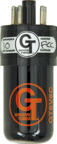 Groove Tubes Tube 6V6-C/Matched Pair