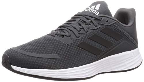 adidas Duramo SL, Zapatillas de Running Hombre, Grey Six/Dove Grey/Bright Cyan, 41 1/3 EU