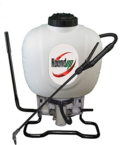 Roundup 190314 Backpack Sprayer for Fertilizers, Herbicides, Weed Killers & Insecticides, 4 Gallon