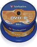 Verbatim DVD-R Azo 4.7Gb 16X Matt Silver Surface Cake 50