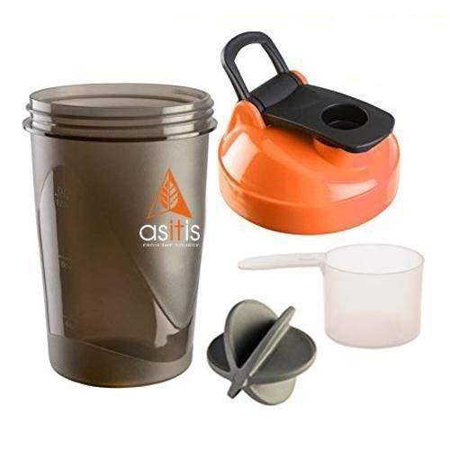 AS-IT-IS Shaker Bottle, 400ml, Black