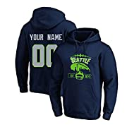 【Material】 100% polyester 【Features】 The football sweater is made of high-quality polyester cloth, which is comfortable to wear, not easy to pilling and wrinkling. The text and pattern of the clothes adopt advanced 3D printing technology, which is cl...