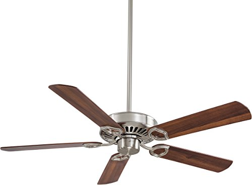 Minka-Aire F588-SP-BN, Ultra-Max, 54' Ceiling Fan with Wall & Remote Control, Brushed Nickel