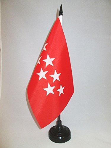 AZ FLAG Bandera de Mesa de la Comunidad DE Madrid 21x14cm -