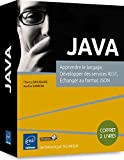 JAVA - Coffret de 2 livres : Apprendre le langage, Développer des services REST,...