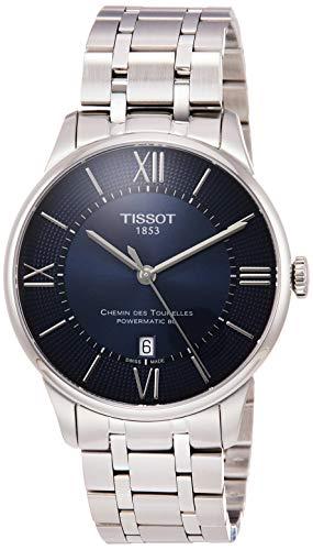 TISSOT Herren Analog Automatik Uhr mit Edelstahl Armband T0994071104800