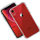 Syncwire Case for iPhone XR, Anti-Scratch Shock Absorption Protective Bumper Cover Case for iPhone XR (4 Corners Air Cushion Protection, Soft TPU Material)  Clear