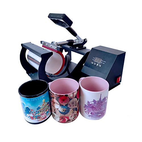 BetterSub Mug Heat Press, Heat Press Machine Cup Heat Transfer Sublimation 11oz