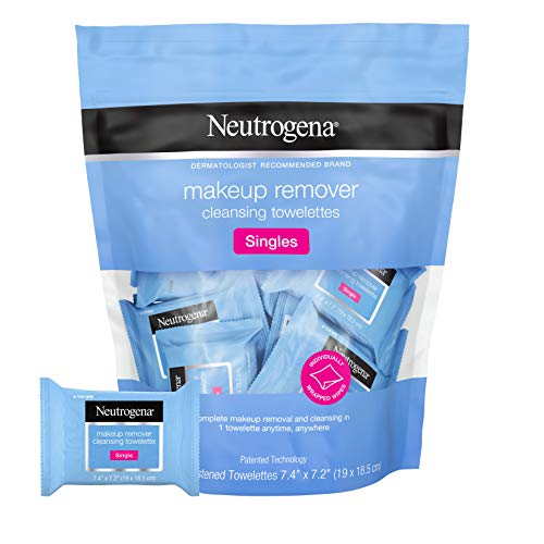 Neutrogena Facial Cleansing Towelette Singles, Daily Face...