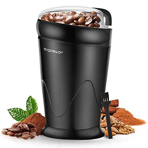 Aigostar Breath 30CFR - Moulin à café,...