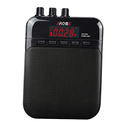 MagiDeal Multifunction Guitar Amplifier Practice Amp with USB Cable for Guitar Lovers