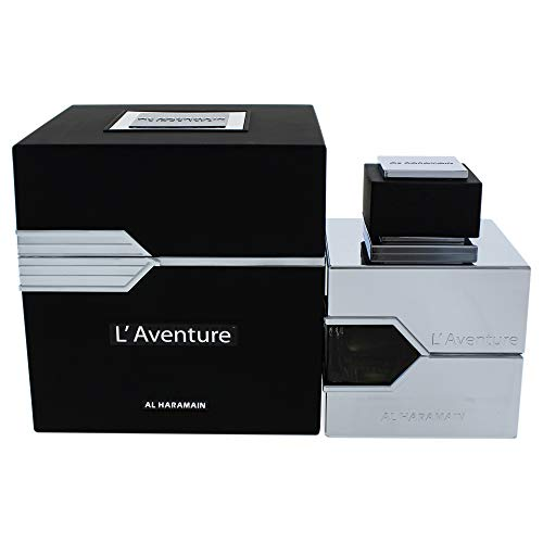 Al Haramain LAventure Eau De Parfum for Men, 3.33 oz.