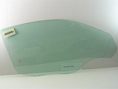 NAGD Passenger/Right Side Front Door Window Glass Replacement for Ford Escort 2 Door Coupe 1998-2000 / ZX2 2 Door Coupe 2001-2003