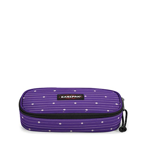 Eastpak OVAL SINGLE Astuccio, 22 cm, Viola (Little Stripe)
