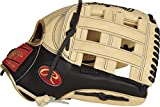 Rawlings Exclusive Heart of The Hide R2G Baseball Glove, Pro H Web, 12 3/4 inch, Black/Camel/Gold - Outfield (AMAPROR3039-6CB)