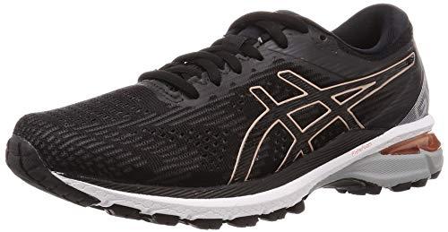 Asics Womens GT-2000 8 Running Shoe - Black/Rose Gold - 40.5 EU