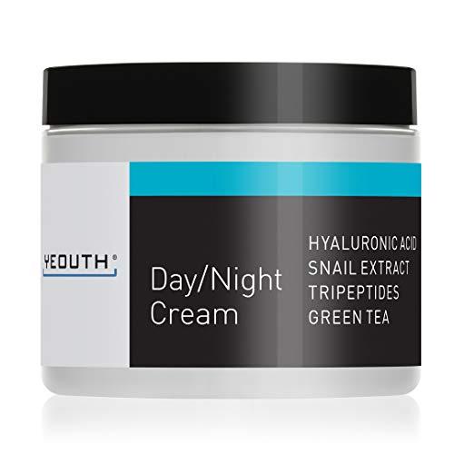 Crema Hidratante Facial de Día YEOUTH con Extracto de Carac