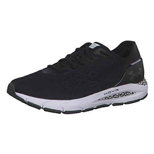 Under Armour Women's HOVR Sonic 3 Running Shoes, Black (Black/White/Jet Gray (001) 001), 5.5 UK