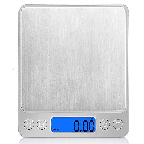 iitrust Balance de Cuisine Précision, 500g-0,01g Balance de Précision,...