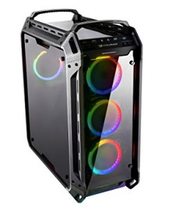 Cougar Panzer EVO RGB Black ATX Full Tower RGB LED Gaming Case with Remote