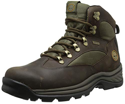 Timberland Men's Chocorua Trail Mid Waterproof, Brown/Green,...