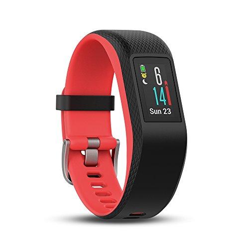 Garmin Vivosport - Bracelet de Sport avec GPS et Cardio Poignet - Taille S/M -...
