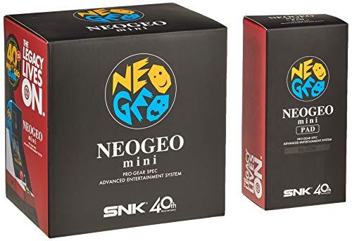NEOGEO mini + NEOGEO mini PAD (黒) セット