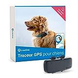Tractive collier GPS pour chien, Traceur avec portée illimitée,...