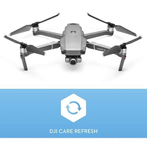 DJI Mavic 2 Zoom Drone con Care Refresh, Zoom Ottico 24-48 mm, Sensore CMOS 1/2.3 12 MP, Super Risoluzione 48 MP, Dolly Zoom, Assicurazione per Mavic 2 Zoom, Copre fino a 2 Sostituzioni, Multicolor