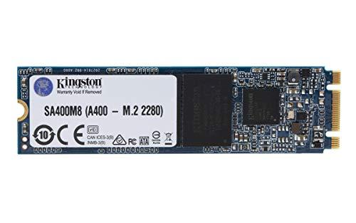 Kingston A400 SSD Disco duro sólido interno M.2 2280 SATA Rev 3.0, 240GB - SA400M8/240G
