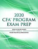 2020 CFA Program Exam Prep Level II: 2020 CFA Level II, Book 4 : Fixed Income & Derivatives (2020 CFA Level 2 Exam Prep)