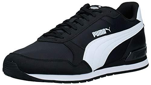 PUMA ST Runner v2 NL, Zapatillas Unisex Adulto, Negro Black White, 46 EU