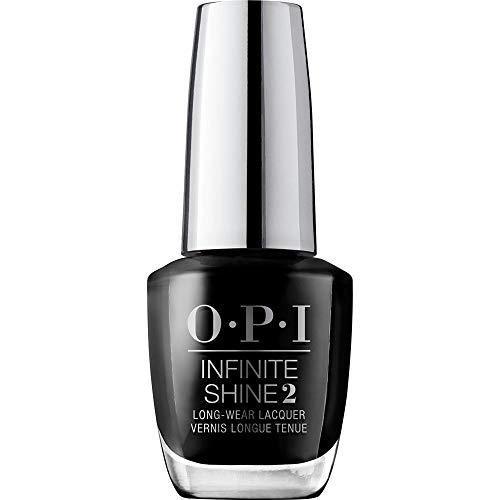 OPI Infinite Shine 2 Long-Wear Lacquer, Black Onyx, Black Long-Lasting Nail Polish, 0.5 fl oz